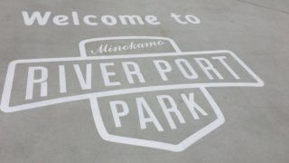 welcome to river port park 美濃加茂
